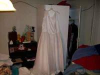 I have a size 18 wedding dress, It has been extended to