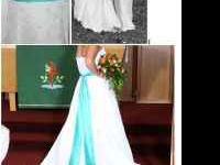 Davids Bridal wedding dress for sale $300. Dress was