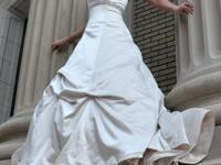 Alfred Angelo wedding dress in Ivory (champagne like)