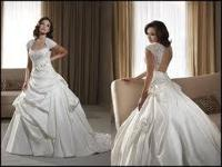 I'm offering a Bonny wedding dress. It's a size 12 and