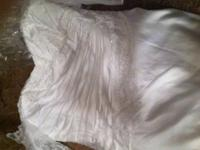 NEW plus sized wedding event dress 26W has 3/4 lace