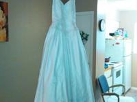 Wedding dress/White/Beaded /(NEW WITH TAGS original