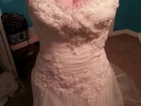 I have a really gorgeous bridal gown for sale! It is a