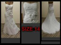 All of these wedding event gowns are readily available
