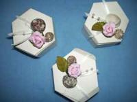 beautiful handmade wedding favor(or birthday or
