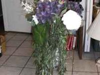This floral arrangement is appx 3 feet tall and I have