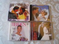 Wedding Music CDs for sale. Including three (3)