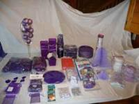 Party supplies for wedding, bridal shower or any