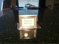 I have 75 metal framed Place Card Settings for sale.