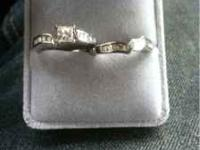 Brand new wedding set never worn from wade jewelers the
