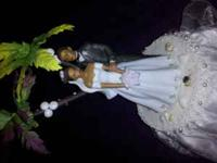 I HAVE A BEAUTIFUL WEDDING CAKE TOPPER FOR SALE WHICH