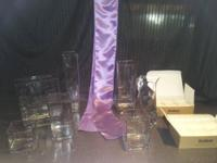 110 Lilac Satin Chair Sashes (20 are still in the