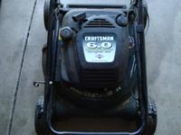 Weedeater Gasoline Push Lawnmower Pull Start