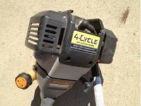 "Ryobi 16"" Weed Eater, won't start, attachments which"