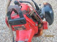Shindiawa T-25 weedeater in good condition. The machine