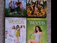 Season 1-4 of Weeds-only watched once Still in