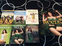 The tv series Weeds season 1-6 in like new condition