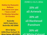 Take 20% off all White-ticketed items, 20% off all hard