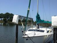 1994 Hunter 23.5 sailboat with trailer and 4hp
