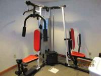Hi, we are offering a Weider 4250 Home Gym Set In Near