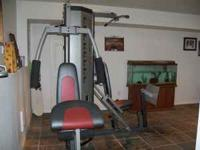 This is a weider club 4870 home gym. This gym is a two