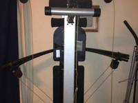 Weider Crossbow home fitness center for sale or trade.