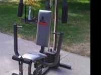 Weider all-in-one home gym  Location: Moorhead