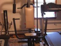 Weider Home workout gym. I believe it is the Weider