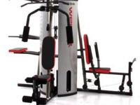 Comprehensive full-body workout machine for toning and