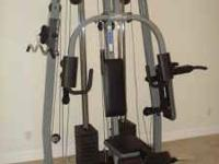 Weider Pro 4850 in great shape exercises including