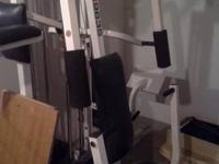 I have for sale a Weider Pro Home gym. It is in