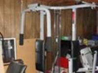 Weider Pro 9930 Corner Style Weight Bench. Good