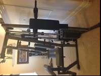 Weider PRO 3550 home gym set. Paid over 600$ and we