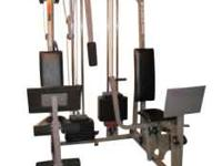 Weider Pro Power Stack 550 Home Gym, All assembled and