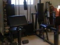 Weider Pro Total Gym. Very slightly used. $600.00/obo.