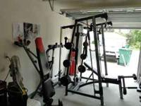 Weider clubc725 smith machine, 2 high pullies, 1 low