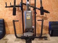Used Weider weight machine 20CT. Purchased for teenage