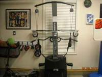 Weider xp600 home gym. like new condition. leg curl ,