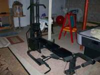 I have a nice weight bench. It has about 200-300