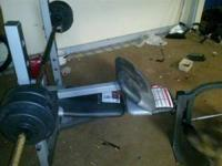 An ok weight bench bout to move need to get rid of it.