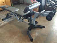 Apex Strength Series weight bench comes with sturdy