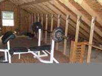 i have a weight bench for sale, with a total of 200 lbs