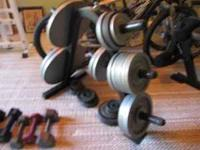 Olimpic pro series weight bent with leg press. Olimpic