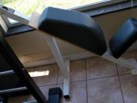 Type: Fitness Fixed Upright Weight Bench With Padded