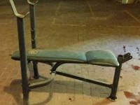 I have a weight raising bench for sale. It comes