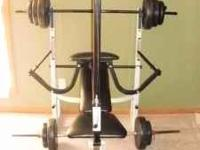 Power House Fitness Bench. Exc. condition. Incline,