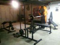 I am selling weight lifting machines for a fair price