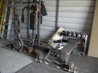 I have pro system machine 900+ pounds weights, 3 bars 1