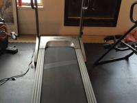 Treadmill & Weight Machine.  Extremely good devices for