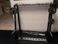 Weight Rack Weights and bars are NOT included $150